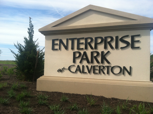 Calverton EPCAL sign