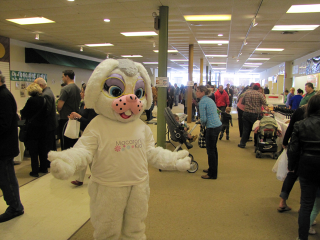 The farmers market in downtown Riverhead held an Easter egg hunt Saturday.