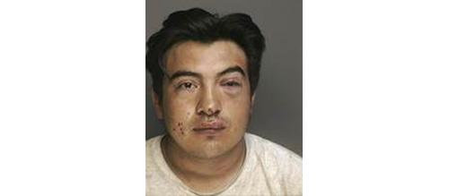 Edgar Bautista mugshot. (Credit: Riverhead police)