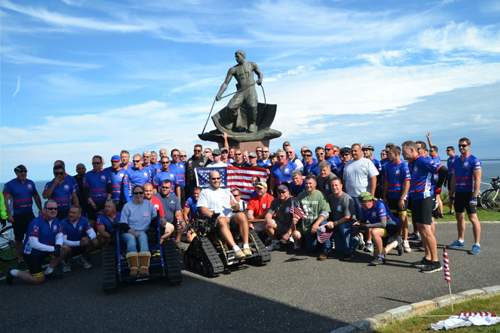FDNY343RIDE COURTESY PHOTO | Participants in this year's trek from Ground Zero in NYC to Montauk.