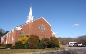 BARBARAELLEN KOCH FILE PHOTO | First Baptist Church on Northville Turnpike in Riverhead.