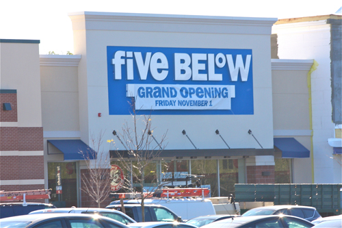 Five Below to hold grand opening Friday