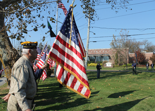 Flag Riverhead Veterans