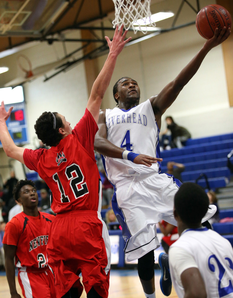 Tyrese Kerr goes up for a shot. (Credit: Garret Meade)