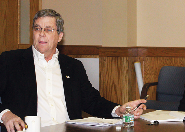 Councilman George Gabrielsen said between running a business and running for re-election, 'something had to go.' (Credit: Barbaraellen Koch, file)