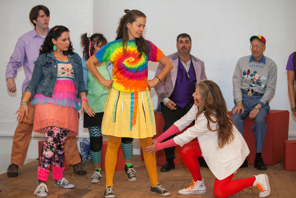 The first performance of 'Godspell' is scheduled for Friday at the (Credit: Katharine Schroeder)