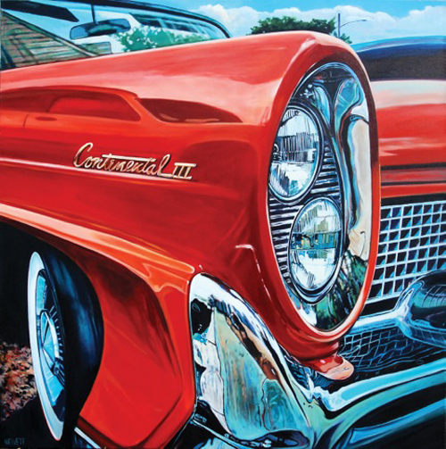 """Continental"" by artist Scott Hewett."