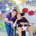 CARINGBRIDGE.COM COURTESY PHOTO | Nancy Reyer and her son, Michael Hubbard, celebrated Mother's Day in 2012 at Blythesdale Children's Hospital.
