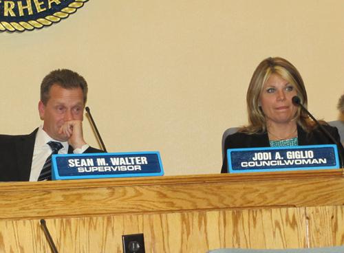 Town Board, Linda Hulse, Riverhead, Jodi Giglio, Sean Walter