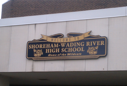 Shoreham-Wading River High School. (Credit: Joe Werkmeister)