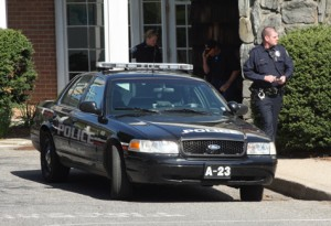 BARBARAELLEN KOCH PHOTO | Southampton cops showed at the Budget Host Inn on an unrelated call the day after a woman was killed there.