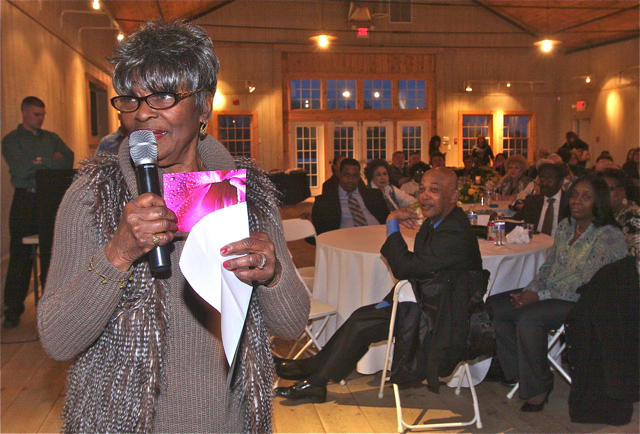 Riverhead News-Review Community Leader of the Year: Thelma Booker. (Credit: Barbaraellen Koch)