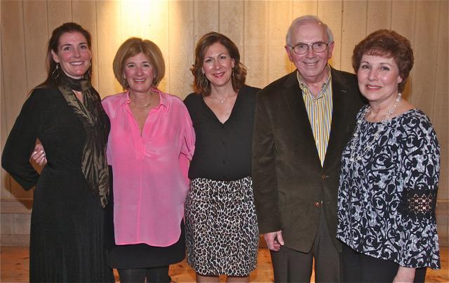 Community Leaders of the Year: North Fork Designer Show House (from left) Kate Di Gregorio, Christine Kosmynka, Melissa Buckley, Tom and Barbara McAdam. (Credit: Barbaraellen Koch)