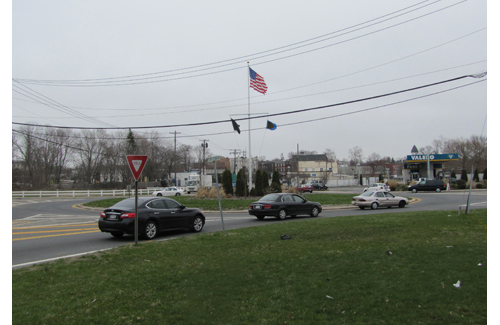 The Route 24 traffic circle in Riverside. (Credit: Tim Gannon, file)