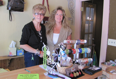 Brigitte Horstmann and her daughter Nancy Koehler recently opened Frog Lady, a handbag, clothing and accessories boutique, in Wading River.