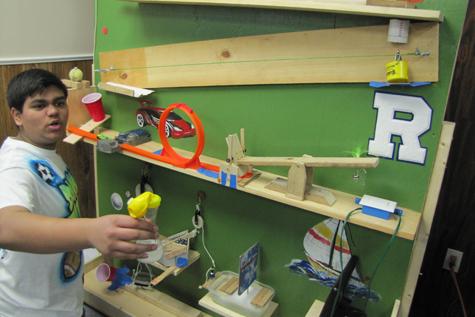 Rube Goldberg Physics Competition