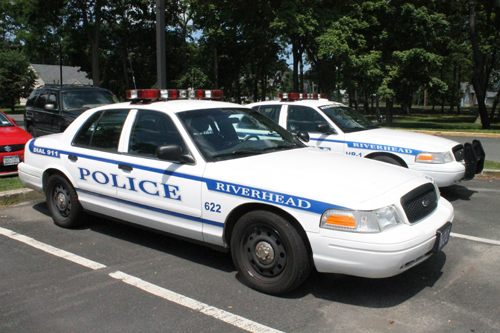 Riverhead Police Car