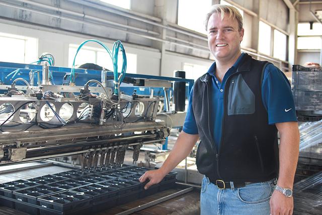Kurt Van de Wetering at Ivy Acres in 2011. (Credit: Jen Nuzzo file)