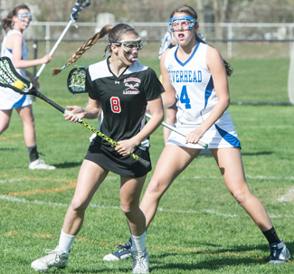 Girls Lacrosse Yellow Cards Pile Up In Riverhead S Loss