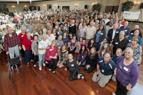 Close to 500 joint replacement patients showed up to the 10th annual reunion dance and barbecue on Friday. (Credit: Barbaraellen Koch)