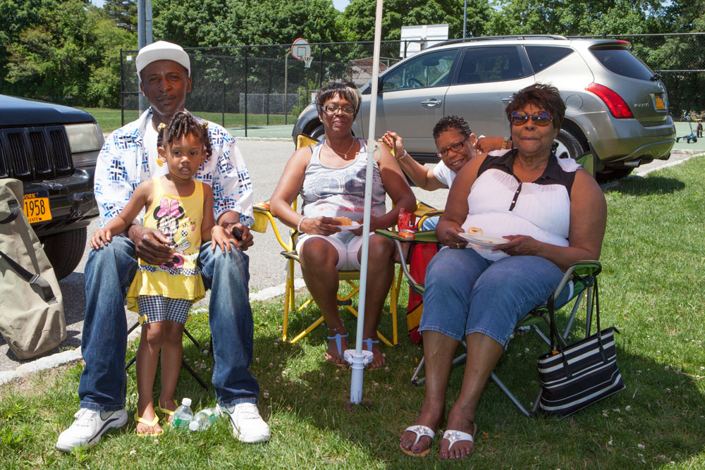 Members of the Nelson/Love/Edwards family.