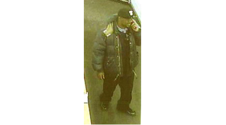 CRIME STOPPERS PHOTO | Suspect in stolen laptop investigation.