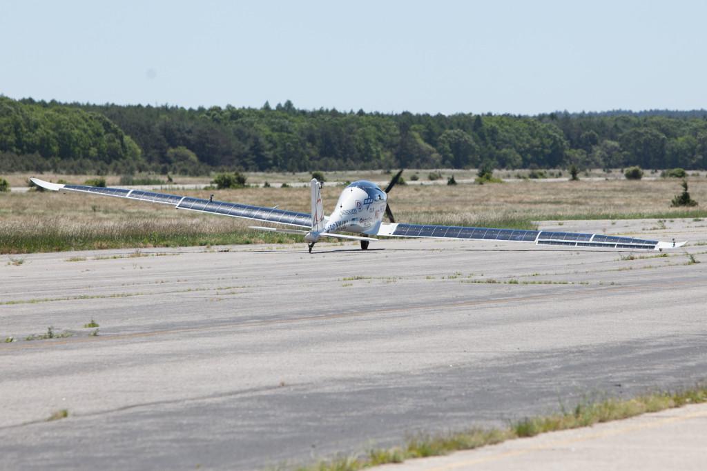 Takeoff. (Credit: Katharine Schroeder)