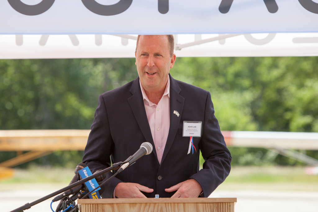 Kevin Law, president and CEO of the Long Island Association. (Credit: Katharine Schroeder)