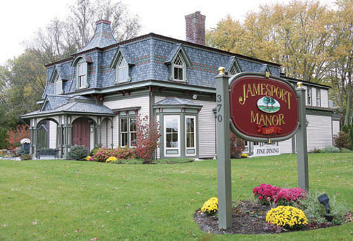 The Jamesport Manor Inn is one of 18 East End restaurants participating in Long Island Restaurant week. (Credit: Barbaraellen Koch file)