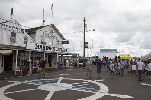 KATHARINE SCHROEDER PHOTO | Downtown Greenport was the site of the 24th Maritime Festival this past weekend.
