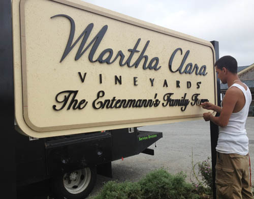 Eight North Fork vineyards make grade for sustainable wine growing