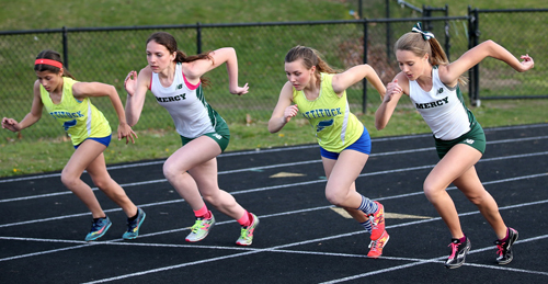 Mattituck-Mercy girls track 041816