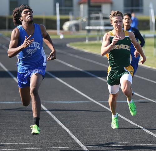 Mattituck track athlete Darius Brew 041116
