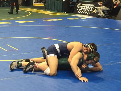 Mattituck:Greenport:Southold wrestler James Hoeg 022716