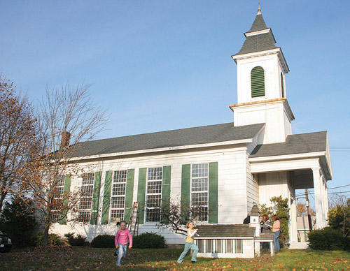 The Jamesport Meeting House. (Barbaraellen Koch file photo)