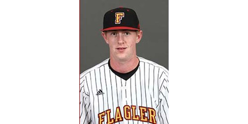 Shoreham-Wading River graduate Mike O'Reilly was the Peach Belt Conference's Pitcher of the Week. (Credit: Flagler College Athletics)