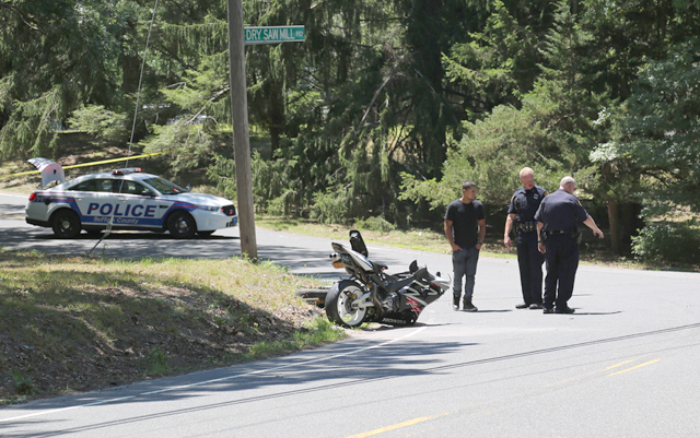 Motrocycle crash Manorville
