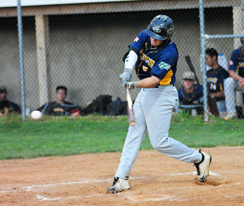 North Fork Ospreys outfielder Max Smith 071816