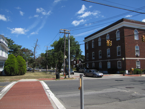 The Riverhead Business Improvement District Management Association is recommending the town rezone property around Second Street for more commercial uses. (Credit: Tim Gannon)