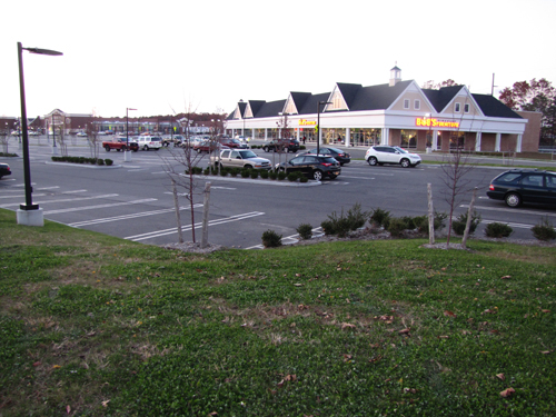 Peconic Bay Medical Center is seeking to build a 3,500 sf medical site in this corner of Gateway Plaza, where Bob's Discount Furniture is located.