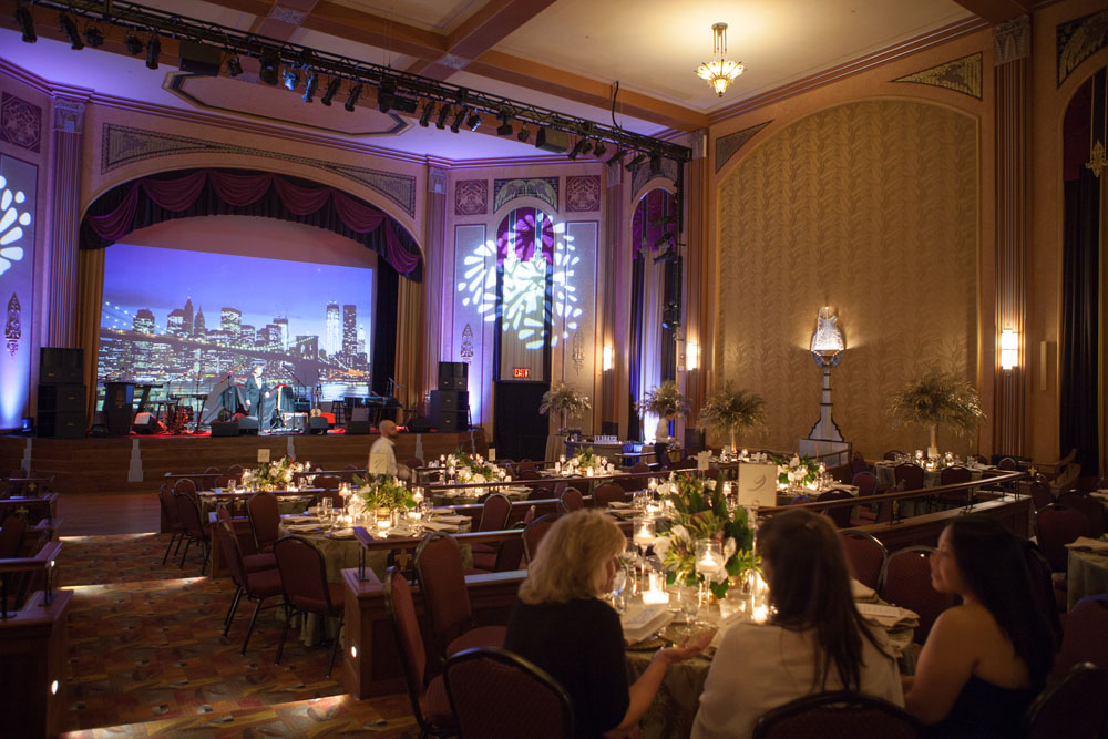 The Suffolk Theater was the venue for this year's gala. (Credit: Katharine Schroeder)