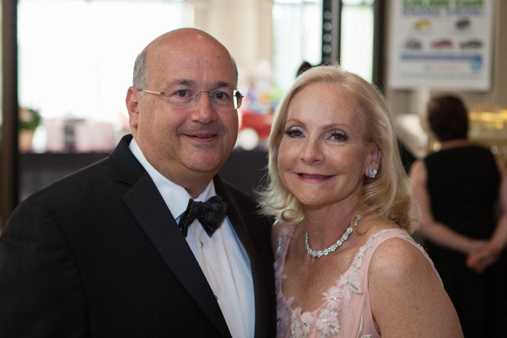 Honoree Richard Israel with wife Lisa.