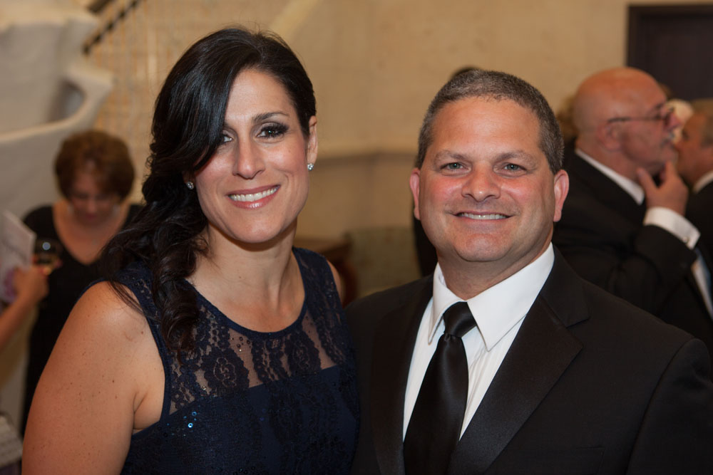 Physician of the Year Dr. George Ruggiero with wife Tina.