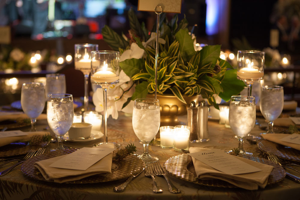 Tables ready for guests. (Credit: Katharine Schroeder)