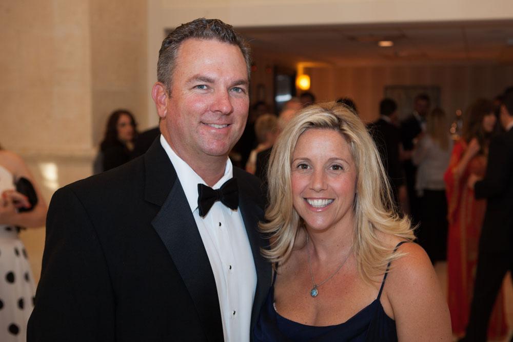 PBMC's Tara Anglim with husband Kevin.