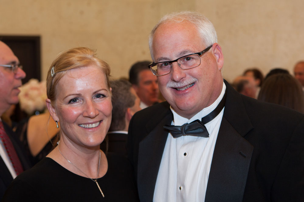 PBMC CEO Andrew Mitchell with wife Mary.