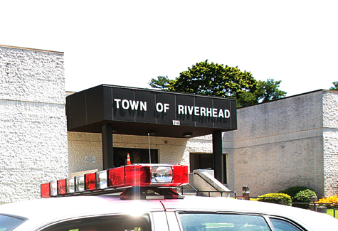 NEWS-REVIEW FILE PHOTO | Riverhead Town's police headquarters.