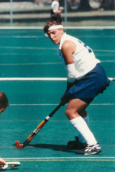 DUKE UNIVERSITY PHOTO | At Duke University, Melissa Panasci of Miller Place tallied 200 career points, 19th best in NCAA Division I history.
