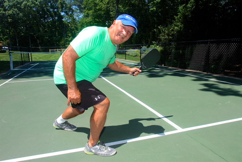 Pickleball player Joe LoRusso 0718916