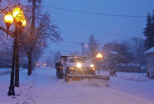 Polish Town, storm